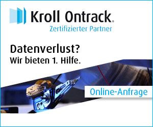 Kroll Ontrack - zertifizierter Partner