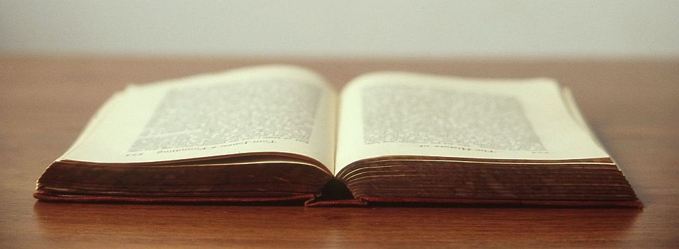 Bild Buch für Impressum